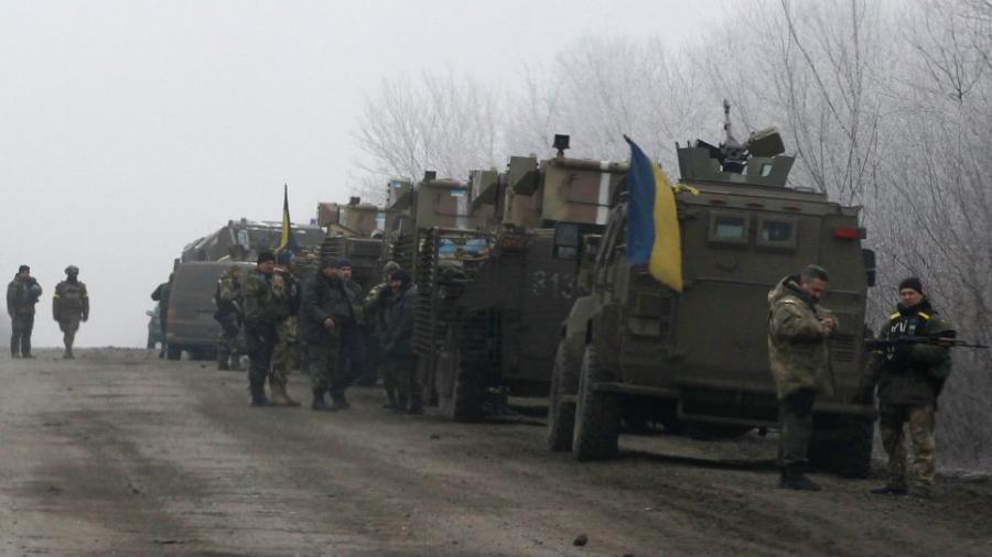 Waffenruhe in der Ostukraine in Kraft – Situation im Kessel von Debaltsevo bleibt jedoch unklar