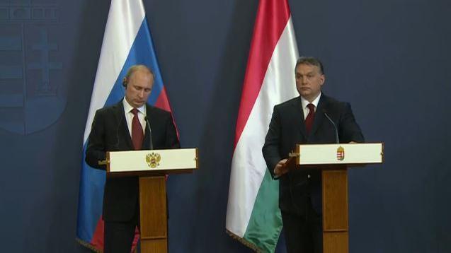 """Putin in Ungarn: """"Wir legen Wert darauf, verlässlicher Partner zu sein"""""""