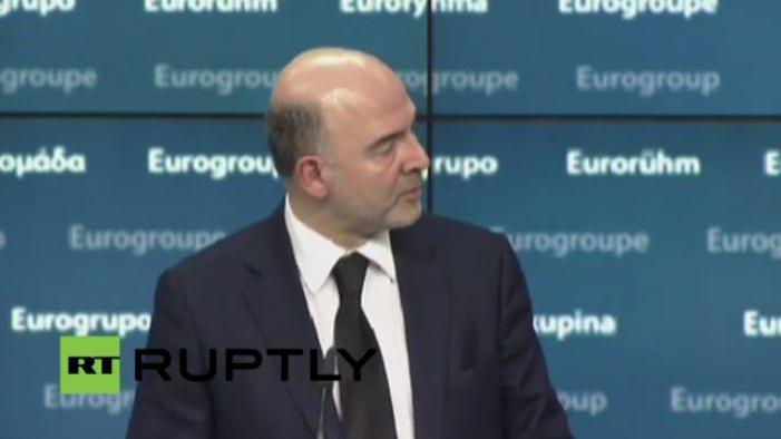 Live - Außerordentliches Treffen der Eurogruppe zu Griechenland - Pressekonferenz