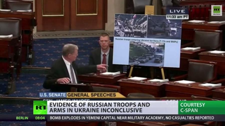 """Täglich grüßt das Murmeltier – RT-Überblick über """"Beweisbilder"""" für russische Invasion"""