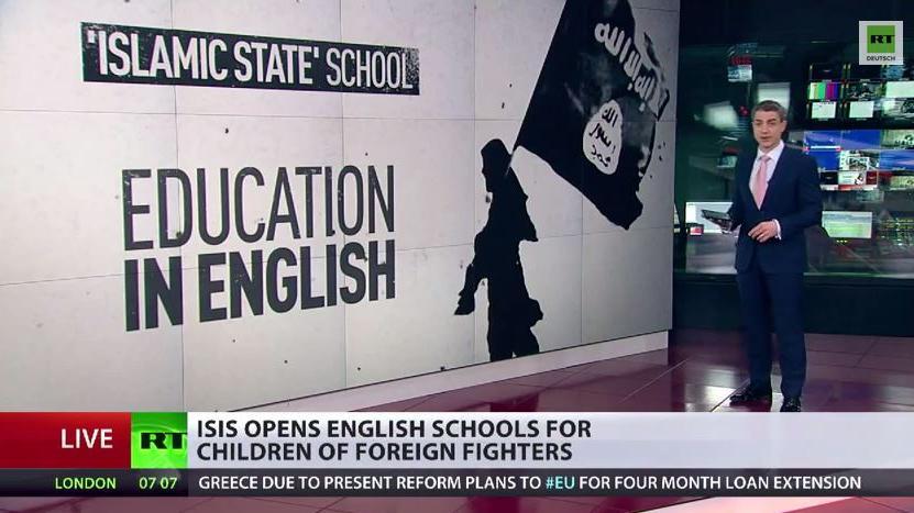 Neben Militär- nun auch Bildungsoffensive? IS eröffnet englischsprachige Schulen