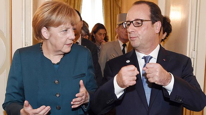 Kreml bestätigt: Hollande und Merkel reisen nach Kiew und Moskau, um Lösung im Ukraine-Konflikt zu finden