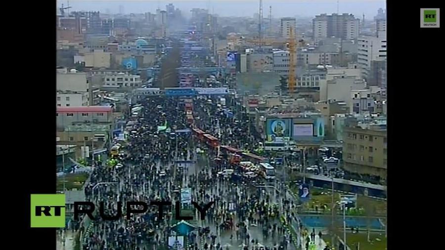 Iran: Feier zum 36. Jubiläum der Islamischen Revolution