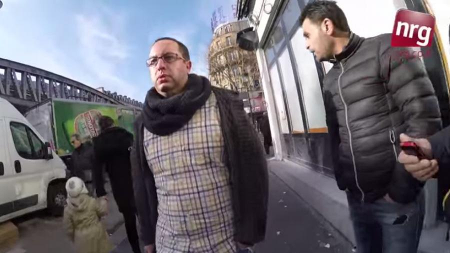 Jüdischer Journalist läuft 10 Stunden durch Paris – die Reaktionen waren Spott, Beleidigung und Bedrohung