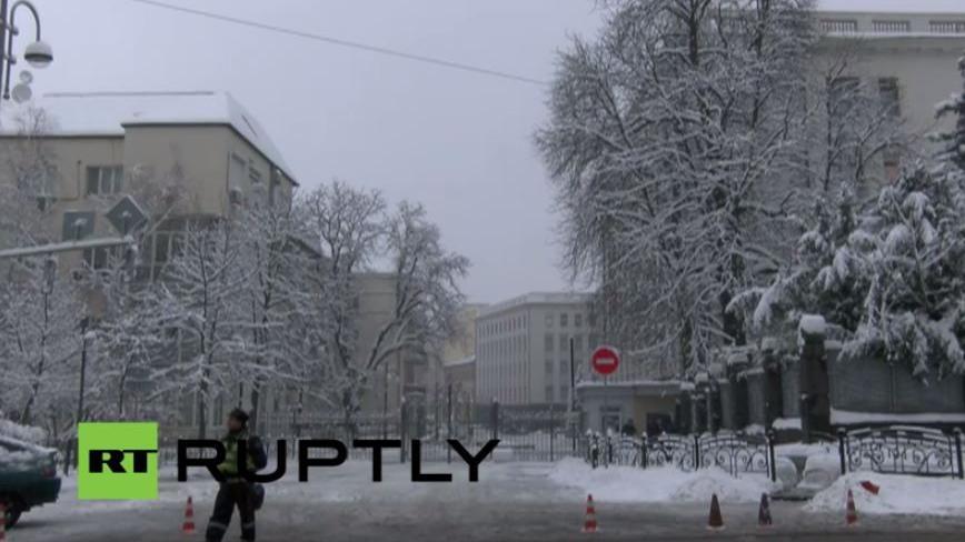 Ruptly Livestream: Ankunft von Merkel und Hollande in Kiew