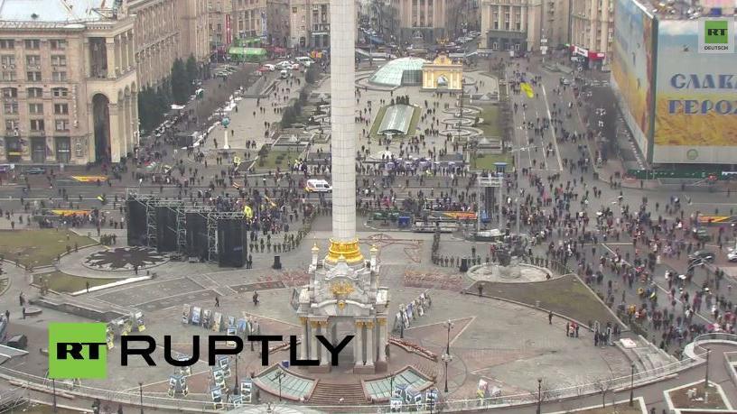 Kiew: Marsch für Frieden zum Gedenken an Maidan Opfer