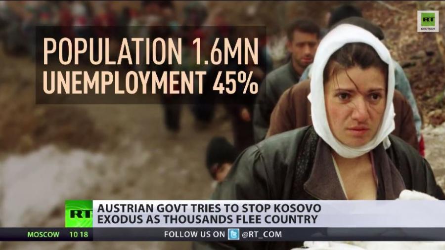 Präventive Abschreckung? Österreich droht Kosovo-Flüchtlingen mit harten Strafen