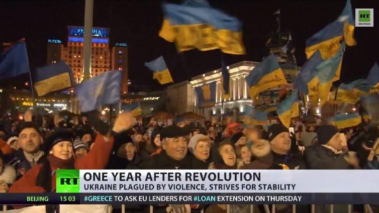 Zerplatzte Hoffnung - Ein Jahr nach der Maidan-Eskalation