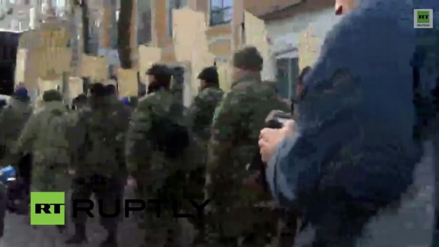 """LIVE: """"Marsch der Wahrheit"""" des Rechten Sektors in Kiew"""