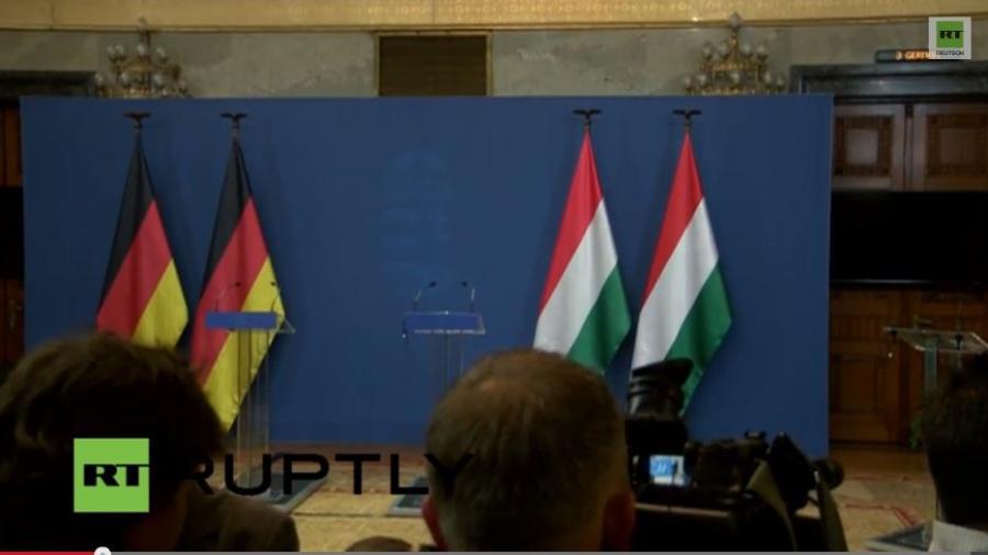 LIVE: Pressekonferenz Bundeskanzlerin Merkel und Ministerpräsident Orbán in Budapest