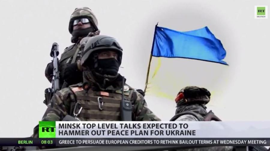 Letzte Chance auf Frieden? Große Erwartungen vor dem Treffen im Normandie-Format in Minsk