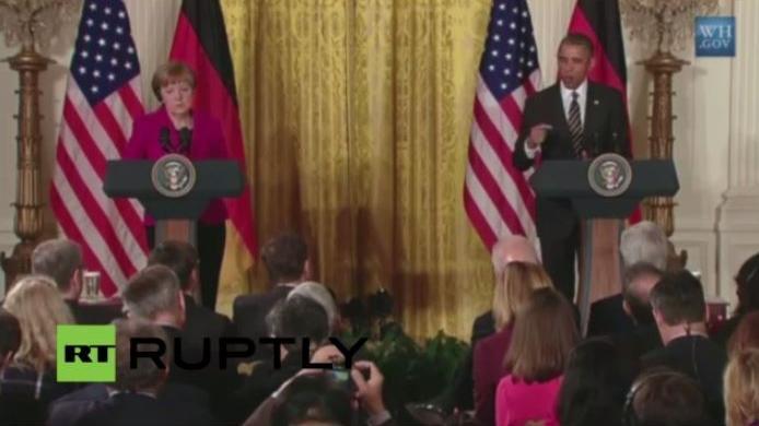 LIVE aus Washington: Merkel trifft Obama im Weißen Haus