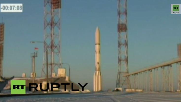 LIVE: Start des Kommunikationssatelliten Inmarsat 5 F2 auf einer Proton-M-Rakete