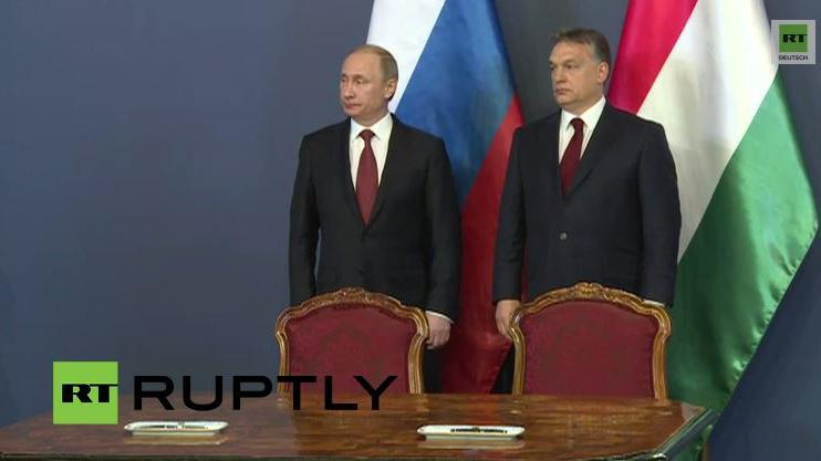 Budapest: Wladimir Putin trifft Premier Wiktor Orban
