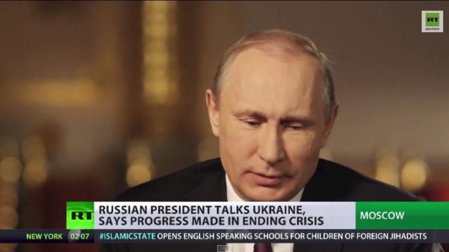 Putin gegen Krieg mit Ukraine - Poroschenko beschwört Rückeroberung der Krim