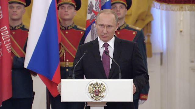Putin: Ich habe den Eindruck, Frankreich und Deutschland suchen ehrlich den Frieden