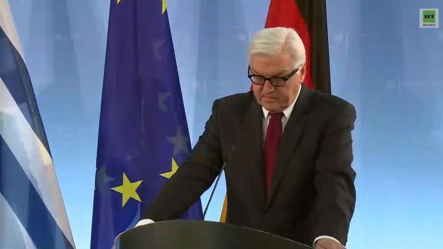 Außenminister Steinmeier trifft seinen griechischen Amtskollegen Nikos Kotzias