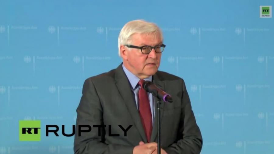 LIVE: Steinmeier bespricht nächste humanitäre Schritte in der Ukraine
