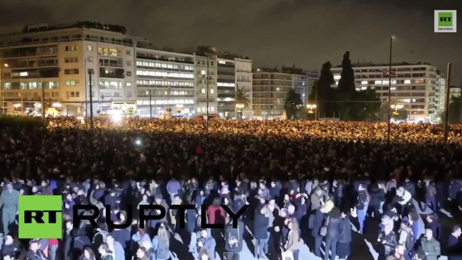 Griechenland: Das Volk steht hinter dem Politikwechsel von Tsipras und Syriza