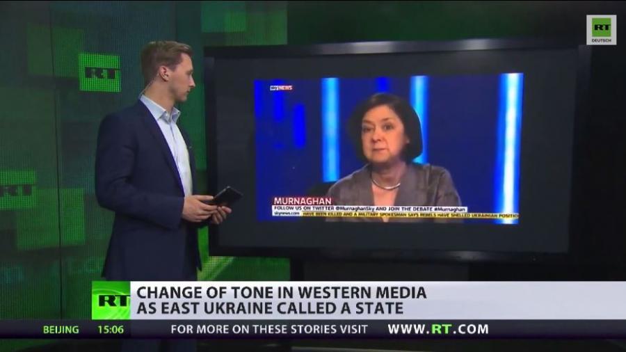 Kehrtwende? Westliche Medien ändern Sichtweise auf Ostukraine