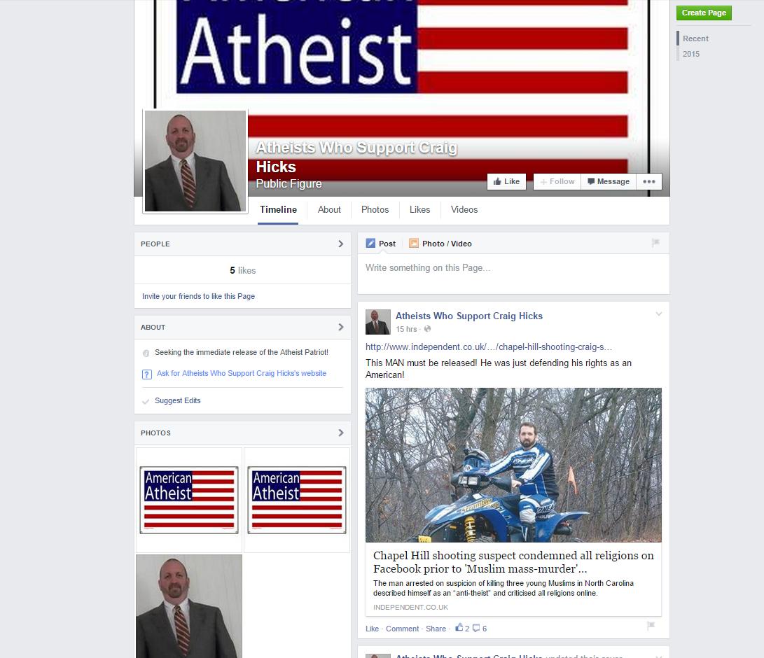 Je suis Chapel Hill? Dreifach-Mord an Muslimen in den USA