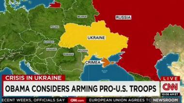 """Freud'scher Versprecher? CNN berichtet über Obamas Überlegung """"pro-amerikanische Truppen"""" auszurüsten… in der Ukraine"""