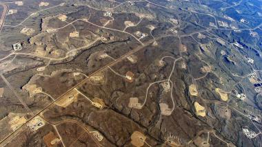 Fracking-Explorationsfelder - Quelle: Simon Fraser University