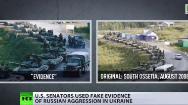 """Ukraine legt US-Senat gefälschte Beweise über """"russische Militärpräsenz"""" vor"""