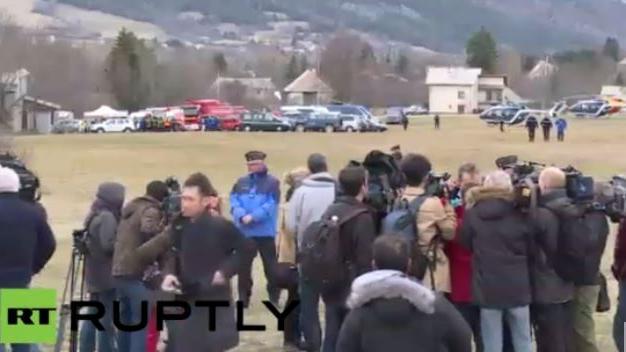 Live: Bergung des Germanwings-Flugzeuges in den französischen Alpen