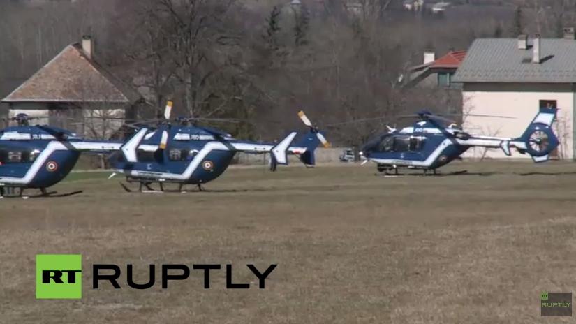 Live: Bergung des verunglückten Germanwing-Airbus in Südfrankreich geht weiter