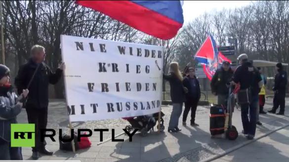 Live: Protest gegen Poroschenko in Berlin