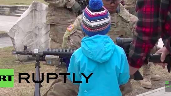 """US-Militärkonvoi """"Dragoon Ride"""" auf Werbetour durch 6 EU-Länder – Endziel: Deutschland"""