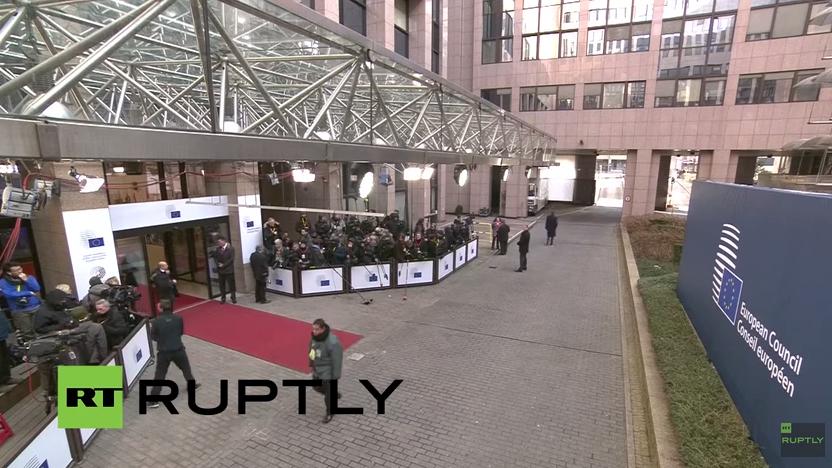 LIVE: EU-Gipfel in Brüssel zu Russland, Ukraine und Griechenland