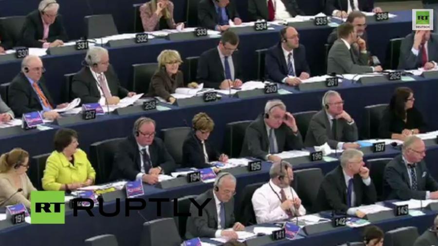 EU-Parlament stimmt über Entschließung zu Nemzow ab