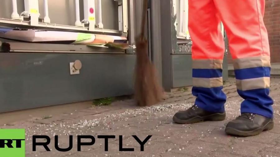 Mai(n)dan: Aufräumarbeiten nach Blockupy-Protesten