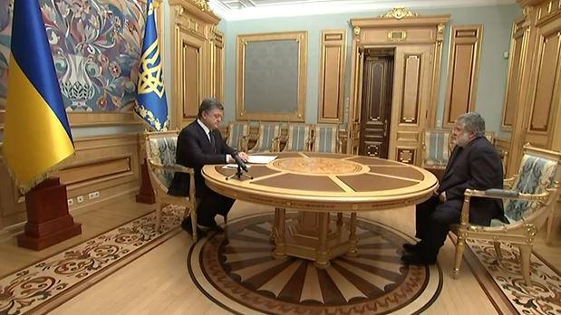 Oligarchenfehde in der Ukraine geht in die Halbzeit: Kolomoiski versus Poroschenko 0:1