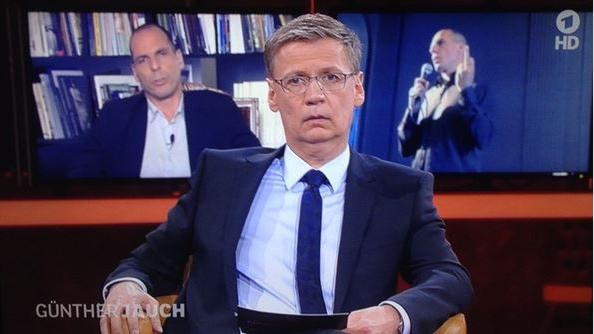 Publikumskonferenz zeigt Jauch den Stinkefinger: Programmbeschwerde wegen Sendung mit Varoufakis