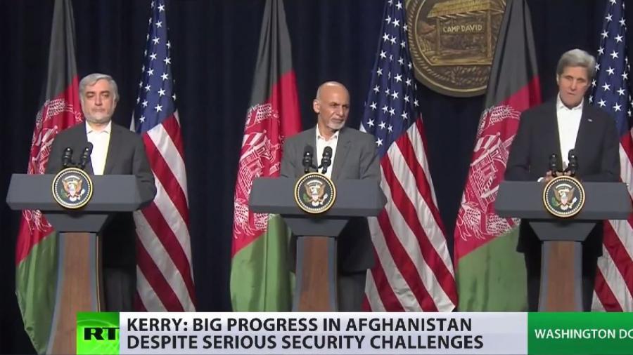 Auch 2015 selbstlos wie wir sie kennen - USA stellen 4 Mrd. Dollar für afghanische Armee bereit