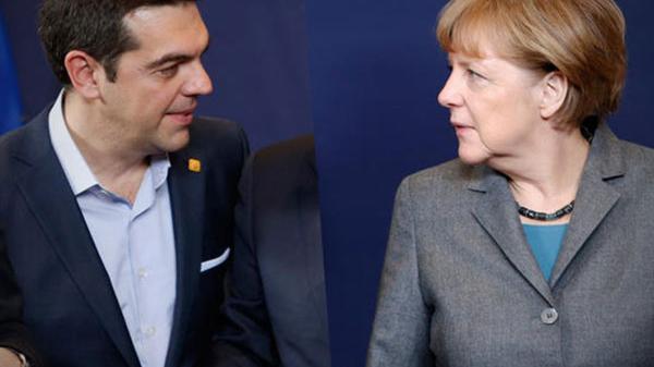 Live: Alexis Tsipras und Angela Merkel geben gemeinsame Pressekonferenz in Berlin