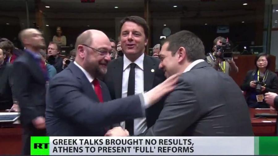 Charme versus Austerität in Brüssel: Tsipras betört alle, nur nicht Merkel