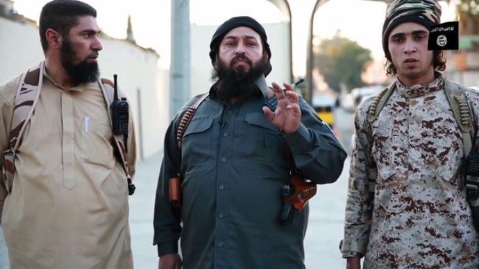 """Quelle: Screenshot von Videobotschaft des """"Islamischen Staates"""""""