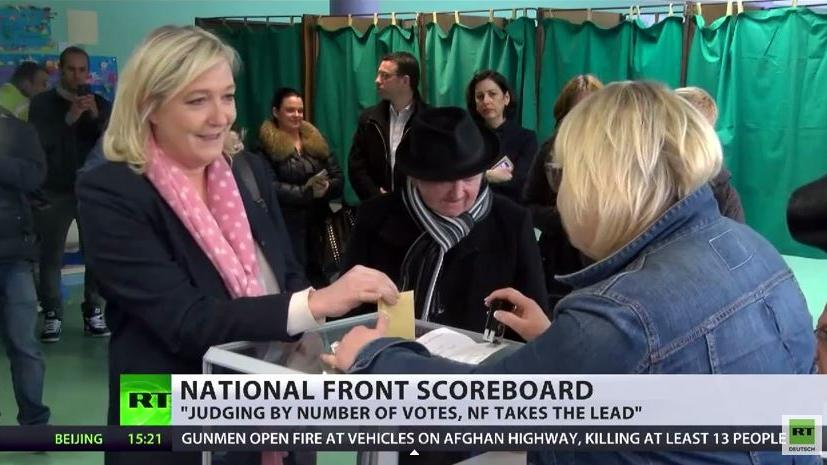 Rechtsruck in Frankreich - Le Pen und Sarko gewinnen Departementwahlen