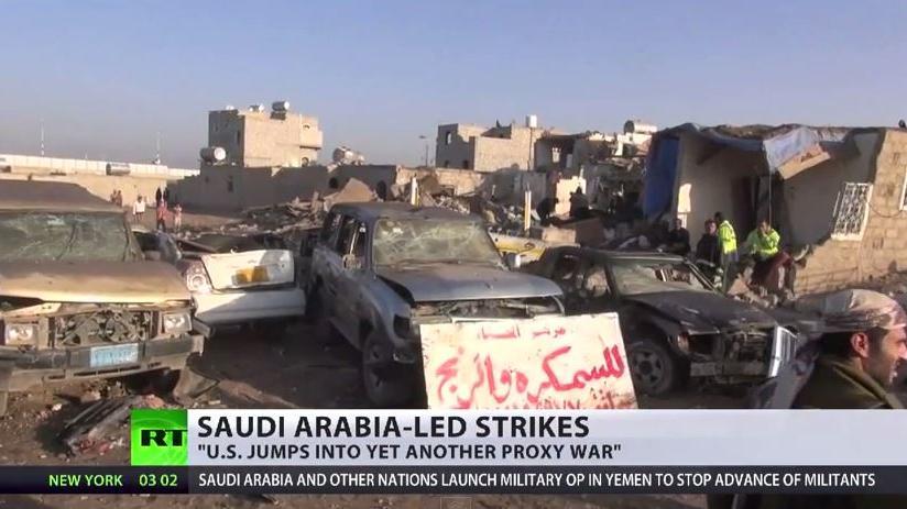 Saudi-Arabien gegen Iran: US-Stellvertreterkrieg im Jemen