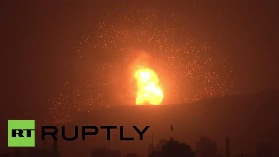 Jemen: Massive Explosionen in Sanaa - Waffenfabrik zerstört
