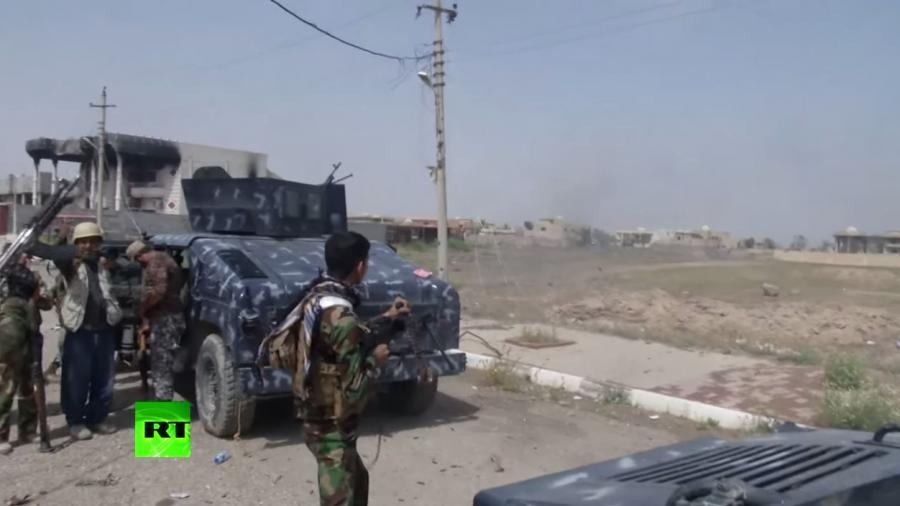 Irak: RT Exklusiv-Video von der Schlacht um Tikrit