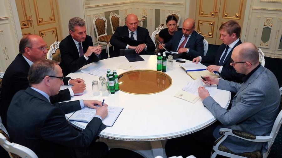 Live: EU, Russland und die Ukraine verhandeln Sommer-Gaslieferungen an die Ukraine