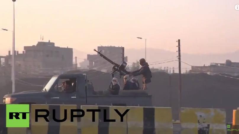 Live aus dem Jemen: Saudische Luftangriffe gegen pro-iranische Huthi-Rebellen - Protest