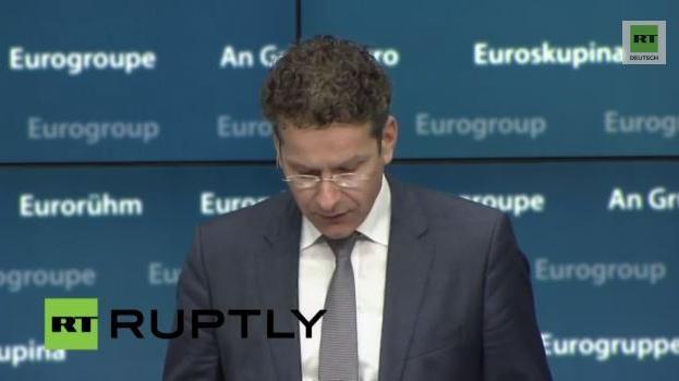 Außerordentliches Treffen der Euro-Gruppe zu Griechenland: Pressekonferenz