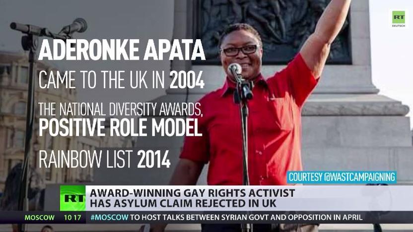 Preisgekrönter Aktivistin für Rechte von Homosexuellen droht Abschiebung in ihrer Heimat
