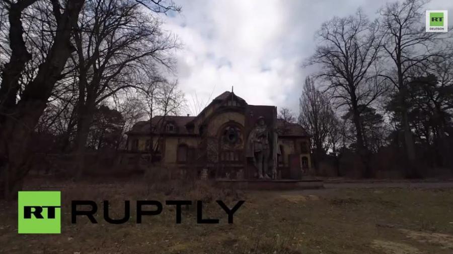 Hitlers Hospital - Drohnenaufnahmen der Berliner Beelitz - Heilanstalt